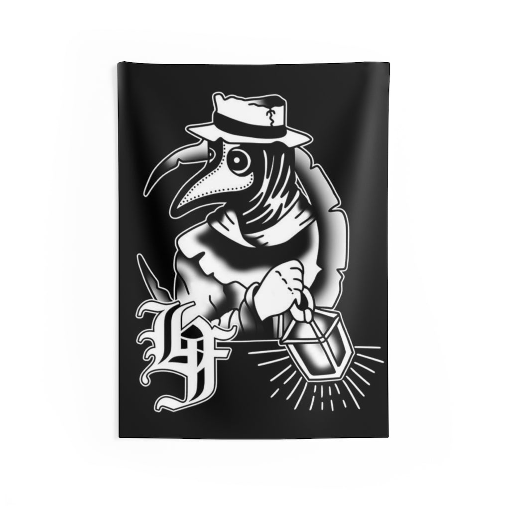 Plague Dr. Indoor Wall Tapestry