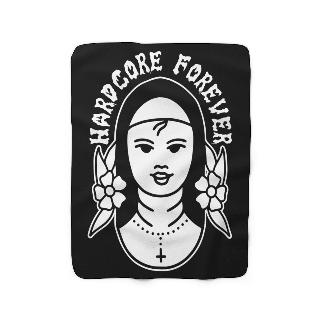 Nun Sherpa Fleece Blanket