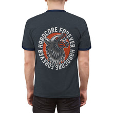 Load image into Gallery viewer, Hardcore Wolf Unisex Ringer Tee