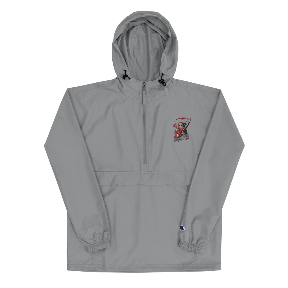Hardcore Reaper Embroidered Champion Packable Jacket