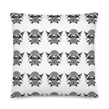 Load image into Gallery viewer, B&W Eagle Block Print Pillow