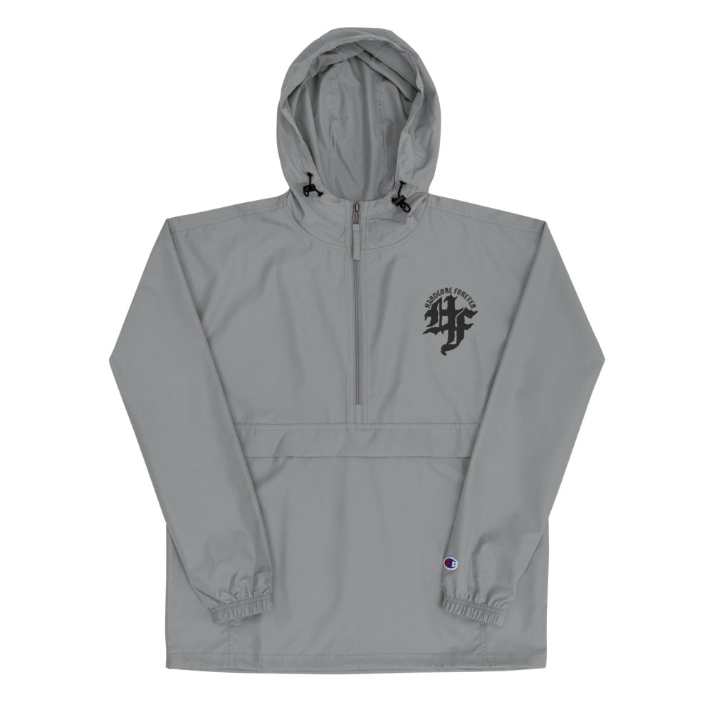 HCF Text Logo Embroidered Champion Packable Jacket