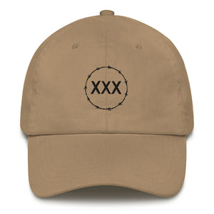 Straight Edge Barbed Embroidered Dad hat