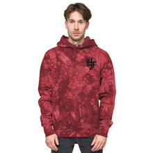 Load image into Gallery viewer, Unisex Champion Embroidered tie-dye hoodie