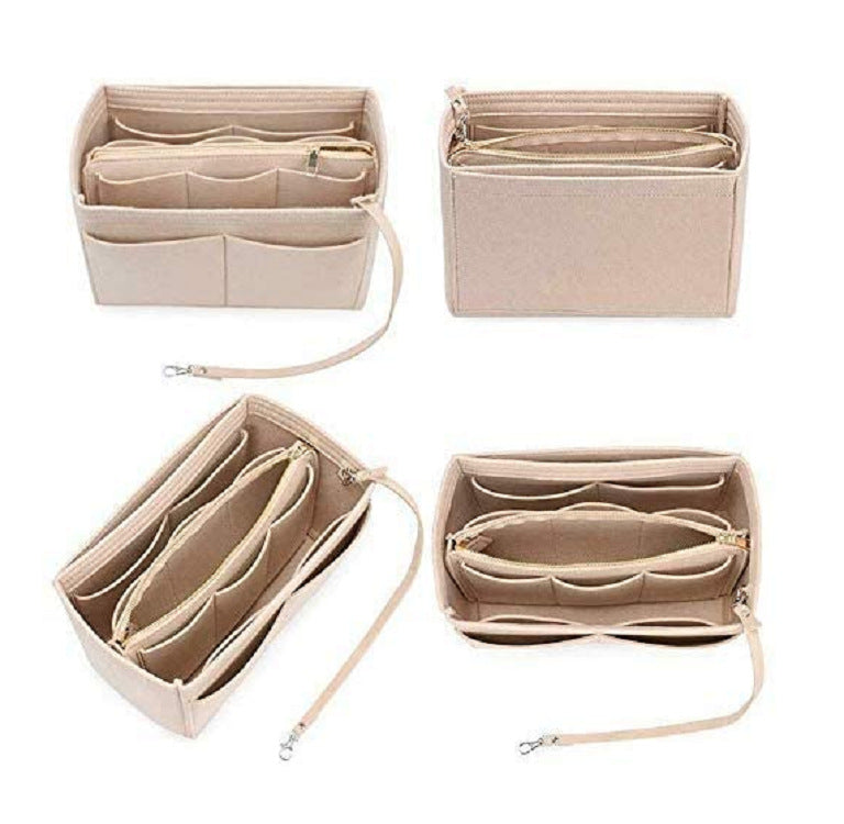 Felt Cosmetic Organizer For Handbag