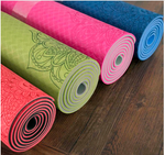 Load image into Gallery viewer, Double Layer Yoga Mat