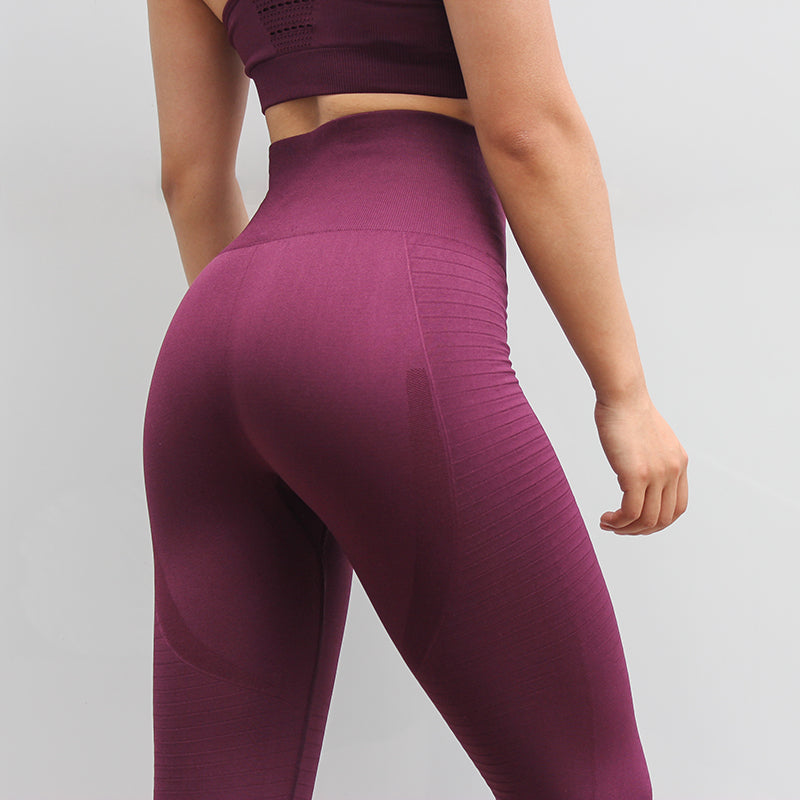 Women Tracksuit Solid Yoga Set - Yogaluga