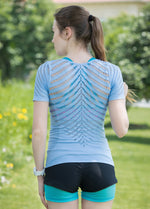 Load image into Gallery viewer, Short Sleeve Hollow Out Yoga Top - Yogaluga