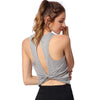 Open Back Sleeveless Yoga Shirts - Yogaluga