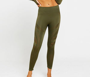 Ombre Seamless Women Yoga Set - Yogaluga