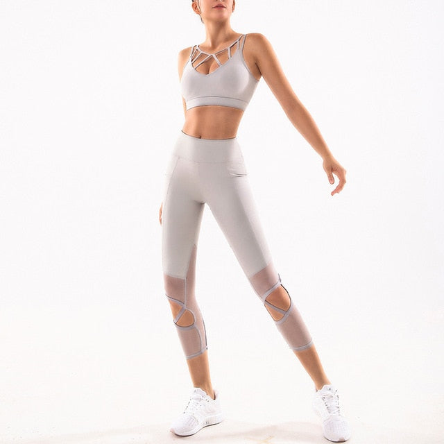 Athletic Active Wear For Gym & Yoga Sets - Yogaluga