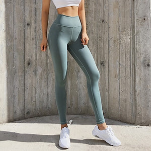 High Waist Tummy Hip Push Up Yoga Pants - Yogaluga