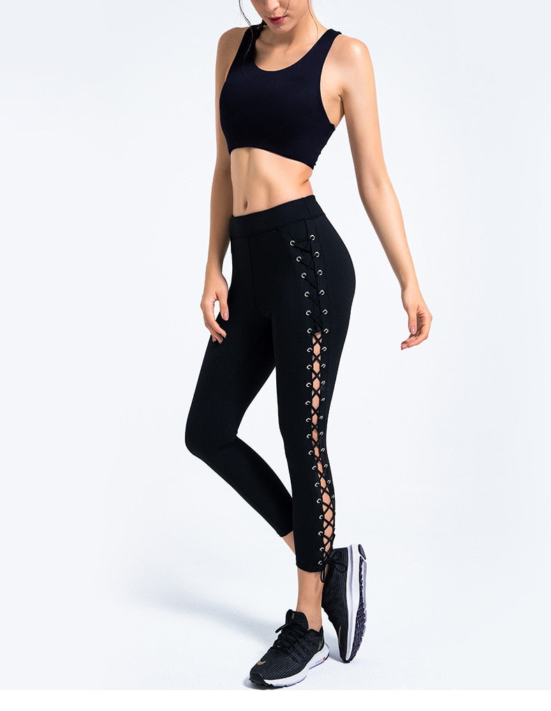 High Waist Leggings Women Yoga Sets - Yogaluga