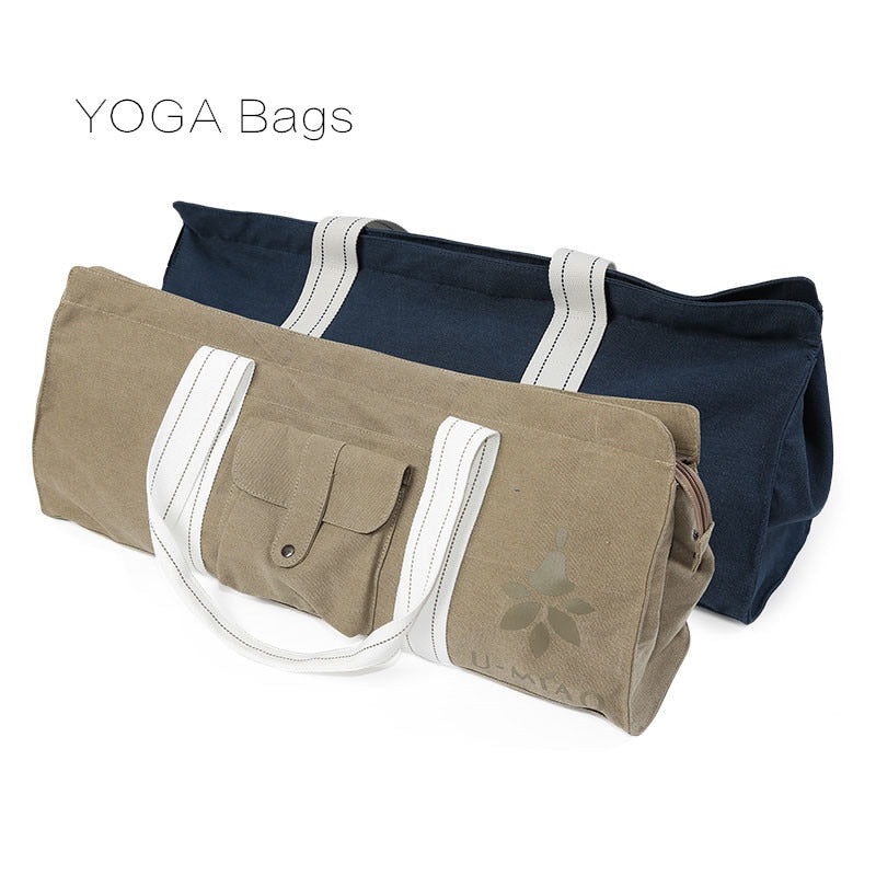 Canvas Waterproof Yoga Mat Carrier Bag - Yogaluga