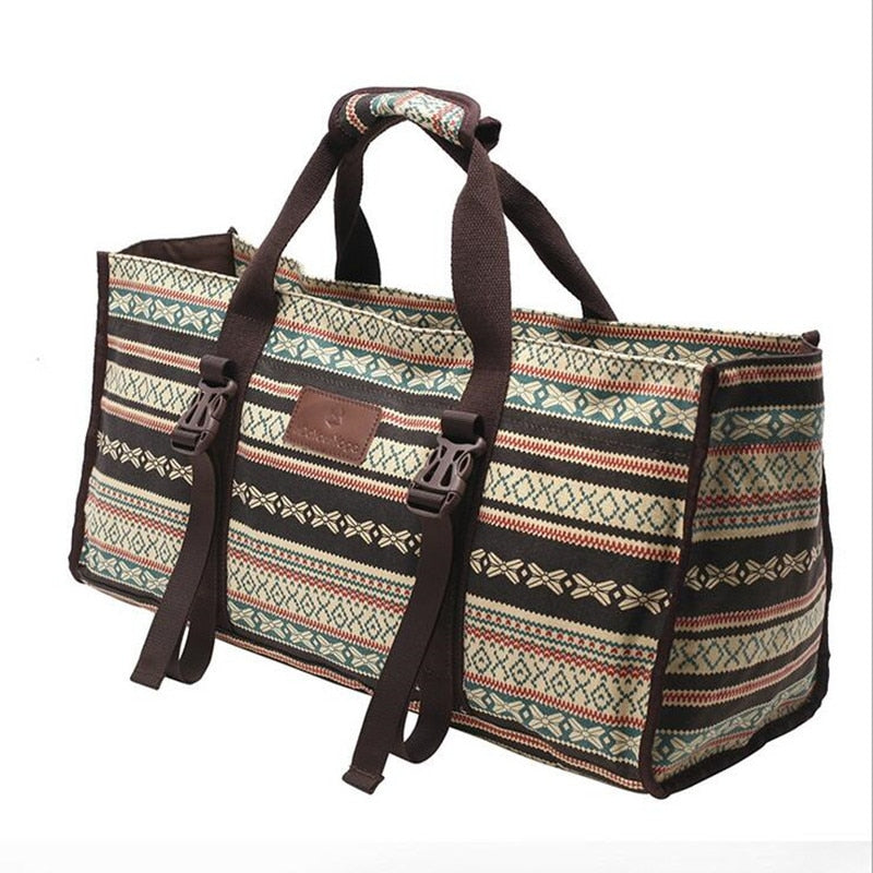 British Style Canvas Yoga Mat Bag - Yogaluga