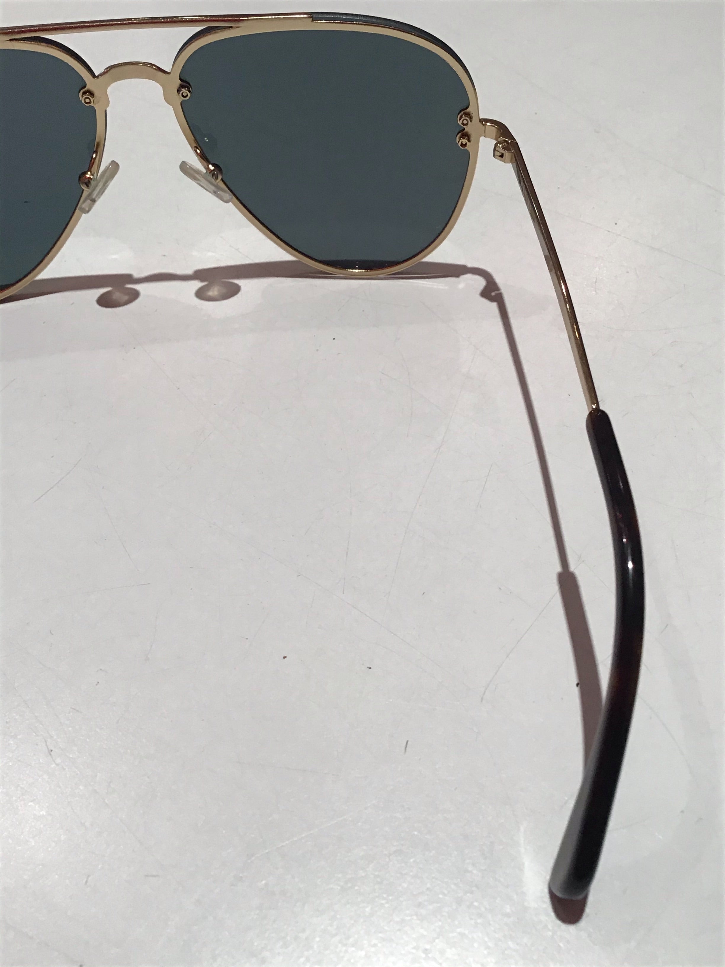 Celine women's light tinted aviator sunglasses