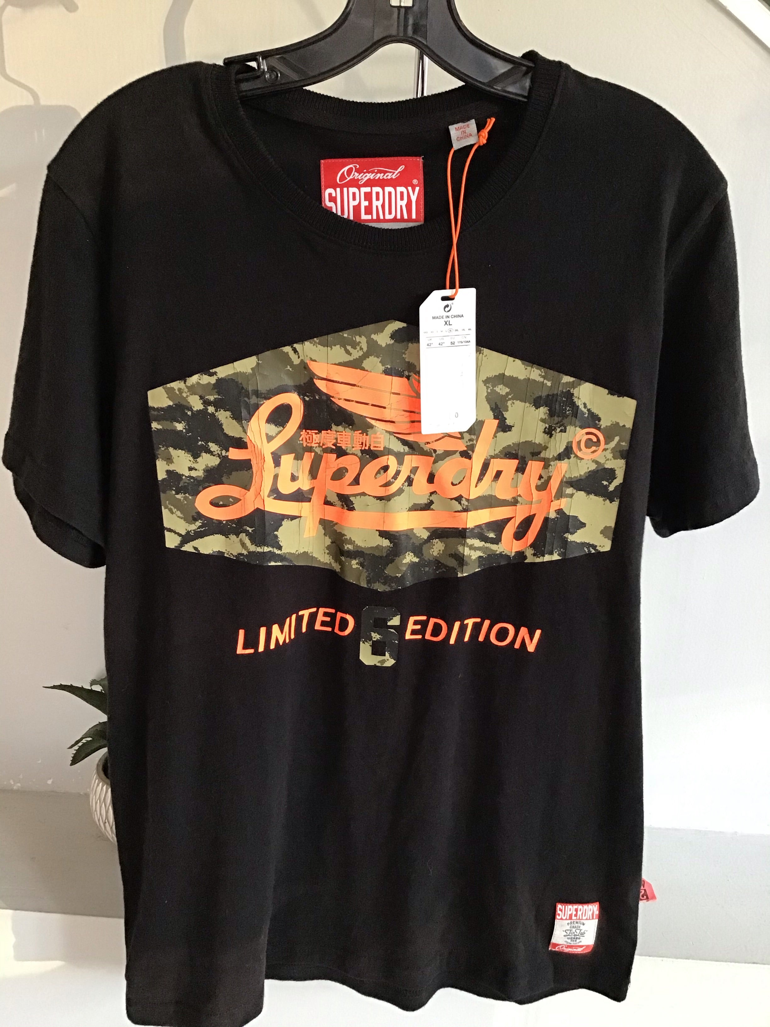 Super dry men's graphic limited edition tee