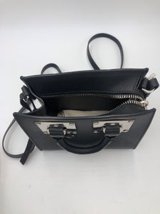 Sophie Hulme Mini Box Black Bag