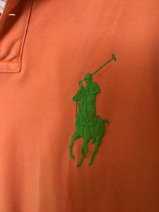 Polo Ralph Lauren men's polo with lime green loga