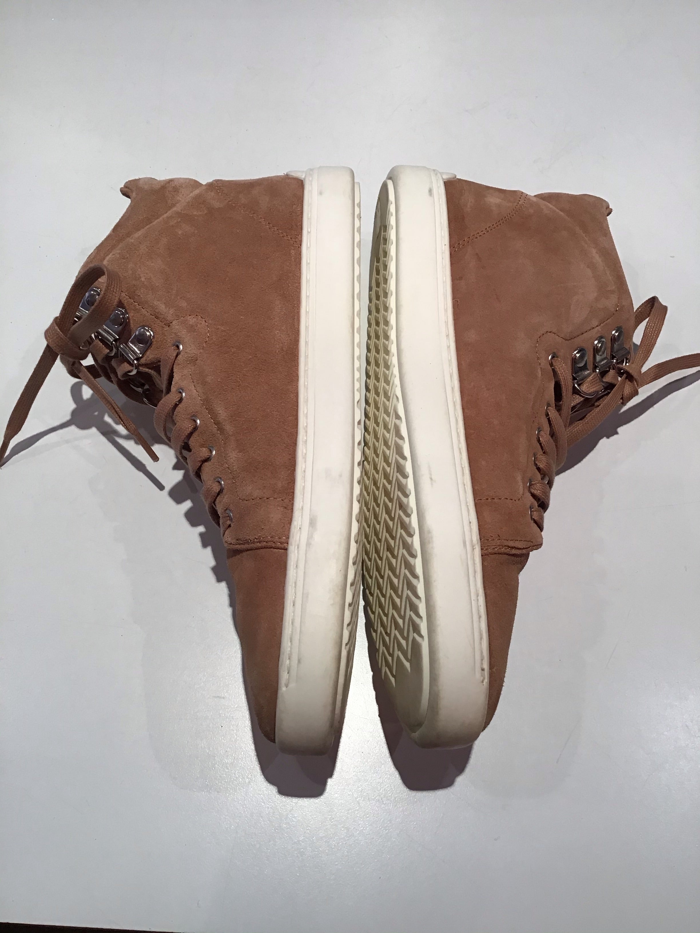 Rag and Bone Women's Suede Light Brown Sneakers