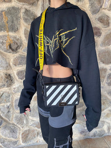 Off-White Diag-print shoulder bag