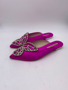Sophia Webster Bibi Butterfly Pearl Slipper - Size 40