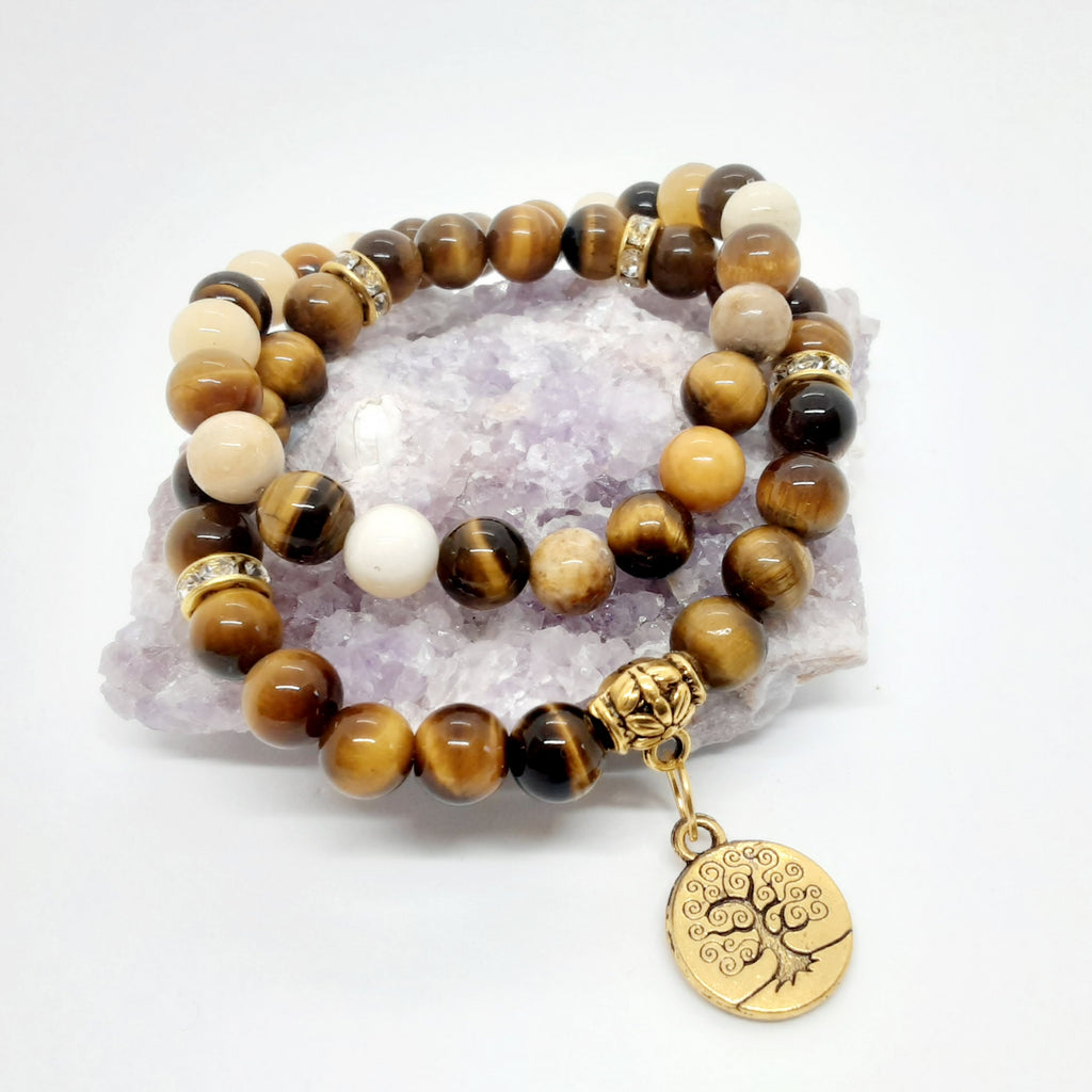 Tigereye Bracelet Set