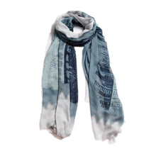 Load image into Gallery viewer, Guitar Scarf in Powder Blue