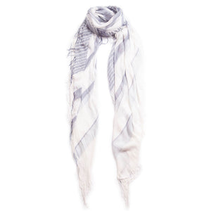 Tissue Stripe Scarf in Folkstone