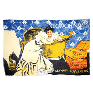 Vintage Vineyard Scarf in Victorian