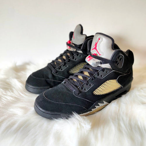 Jordan 5 Black Metallic <br> (Size 10.5)