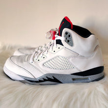 Load image into Gallery viewer, Jordan 5 White Cement <br> (Size 11)