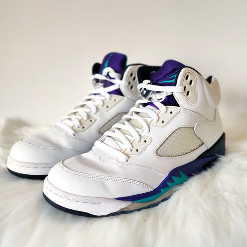 Jordan 5 Grape <br> (Size 11.5)