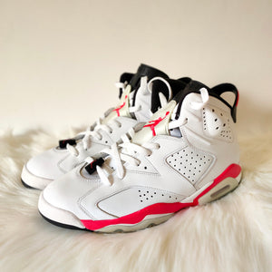 Jordan 6 Infrared Pack White <br> (Size 10)