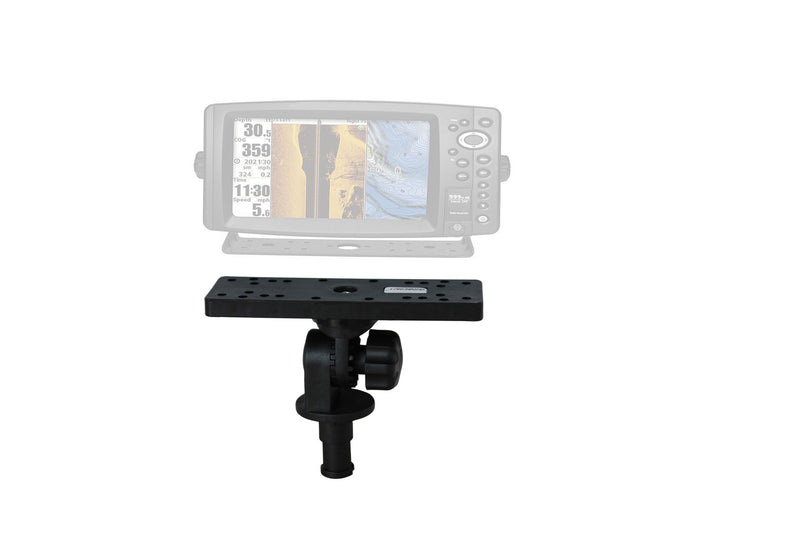 Brocraft Marine Universal Electronic Mount,Boat Fish Finder & GPS, Electronics Mount