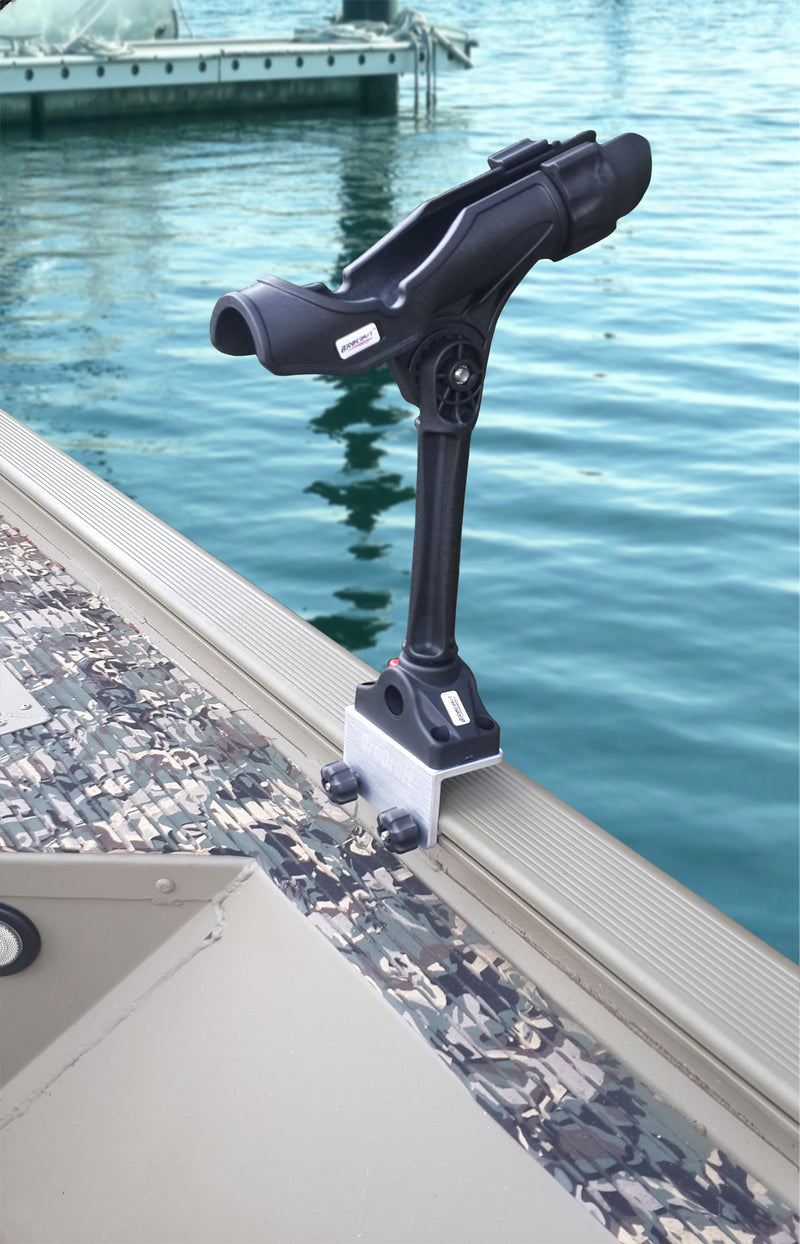 Brocraft Extender Rod Holder for Tracker Boat Versatrack System-Versatrack Accessories