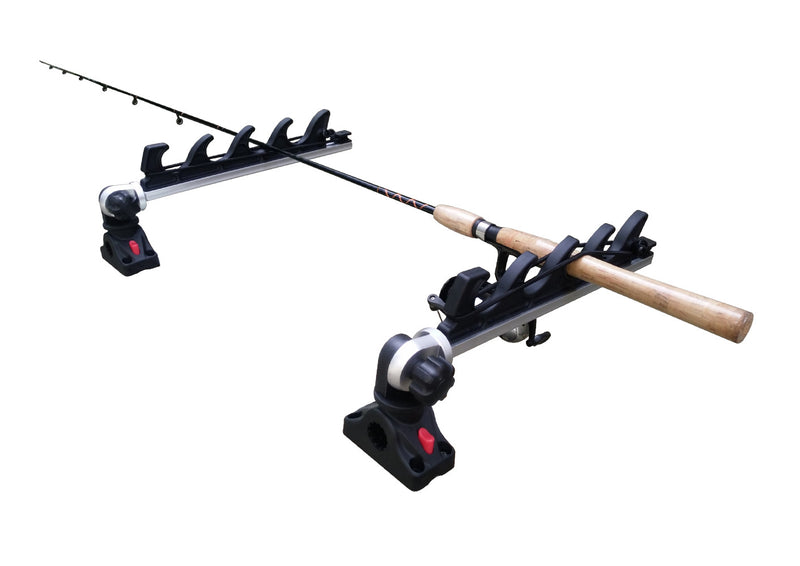 Brocraft Crappie Rod Holder/Crappie Rod Transport Rack/Boat Rod Storage System