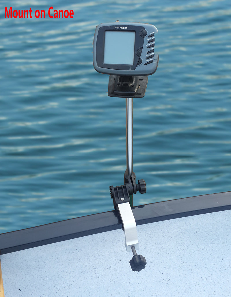 Brocraft Universal Portable Transducer Bracket + Fishfinder Mount.
