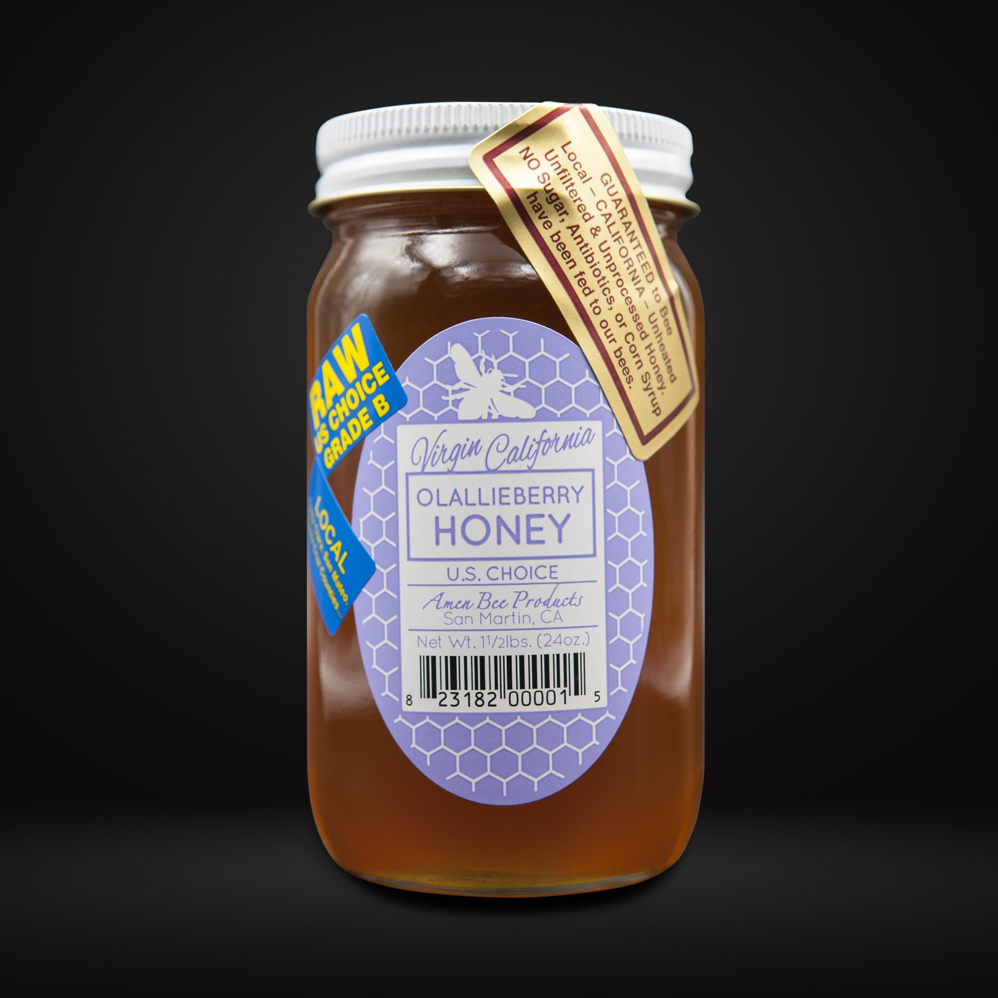 Olallieberry Honey