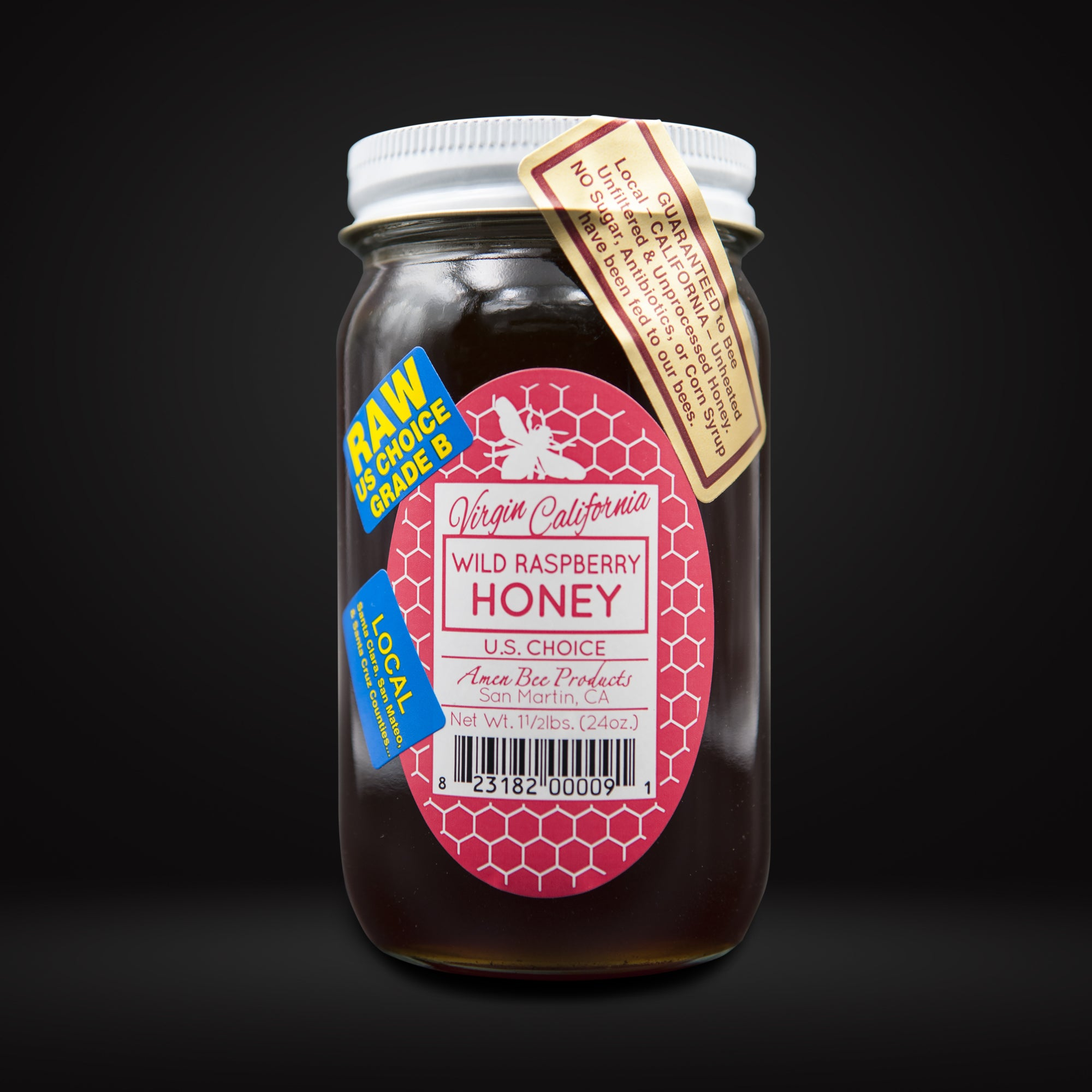 Wild Raspberry Honey