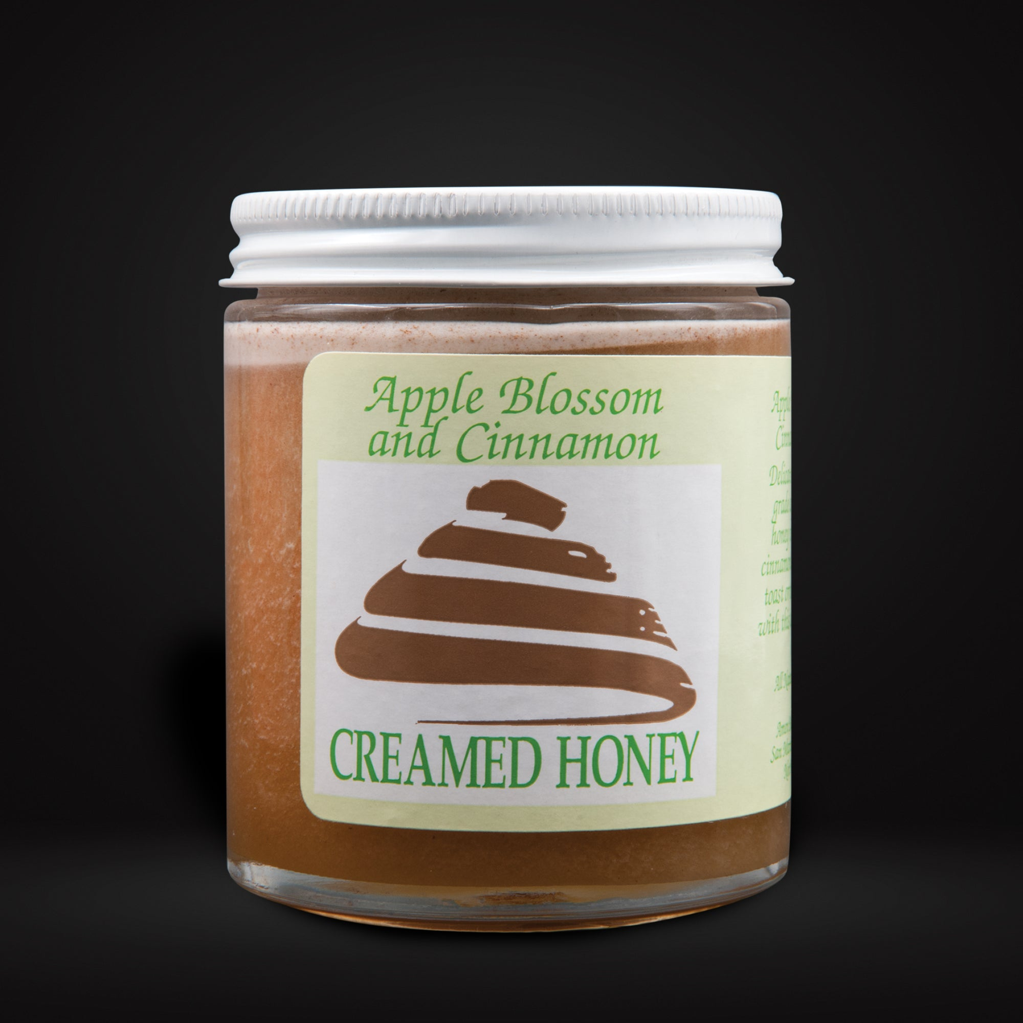 Creamed Honey Apple Blossom and Cinnamon