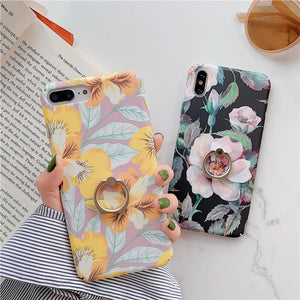Camellia Phone Case With Stand