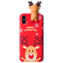 Load image into Gallery viewer, Christmas Cartoon Deer Phone Case