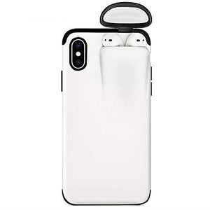2in1 AirPods IPhone Case