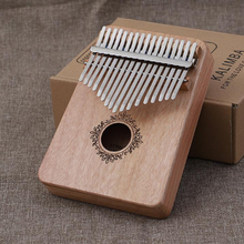 Load image into Gallery viewer, Absolutely wonderful instrument--Kalimba 17 Key Thumb Piano Wood Mahogany Calimba Body