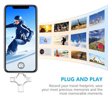 Load image into Gallery viewer, 4 in 1 USB Drive for  Phone & Tablet