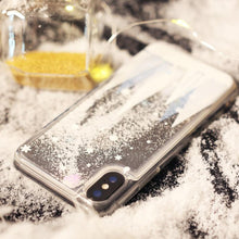 Load image into Gallery viewer, Christmas Cedar Quicksand Phone Case