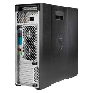 HP Z640 Tower Server - Intel Xeon E5-2690 V3 2.6GHz 12 Core - 64GB DDR4 RAM - LSI 9217 4i4e SAS SATA Raid Card - 1.2TB (2X 600GB SAS New HDD) - NVS 310 512MB - 925W PSU - Windows 10 PRO (Renewed)