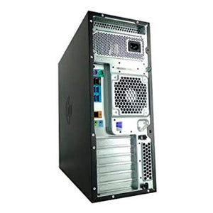 HP Z440 Tower Server - Intel Xeon E5-2630 V3 2.4GHz 8 Core - 32GB DDR4 RAM - LSI 9217 4i4e SAS SATA Raid Card - 600GB