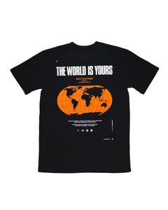 The World Is Yours T-Shirt (Black)